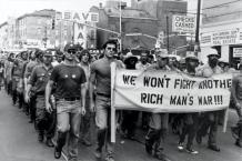 US-Soldaten demonstrieren gegen den Krieg gegen Vietnam