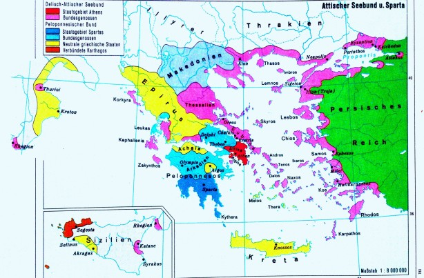 Antike_Karte_Griechenland_5_Jhd