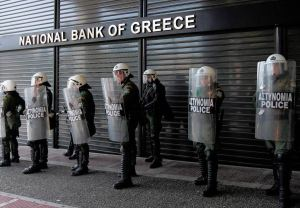 Staatliche Bankenrettung in letzter Minute