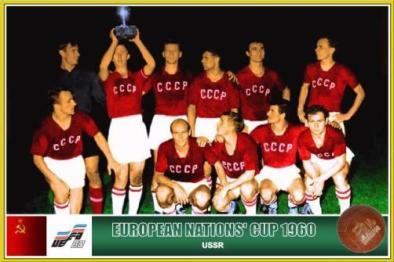 Soviet football team 1960