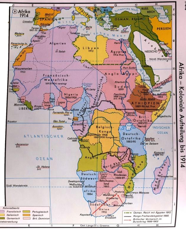 19_Jhd_KARTE_Afrika_Kolonien