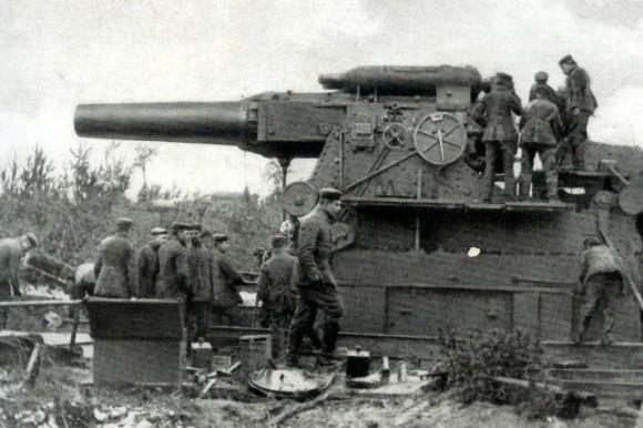 Dicke Bertha - Serienreif produziert seit Frühjahr 1914