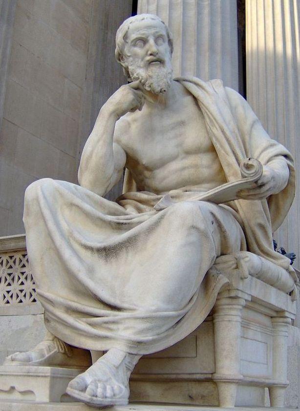Antike_Herodot_Wien_Parlament