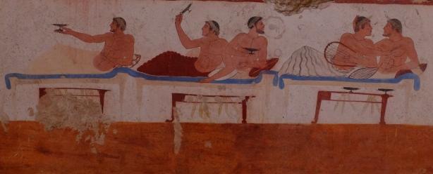 Antike_Paestum_470vChr_Grab_Symposion_1